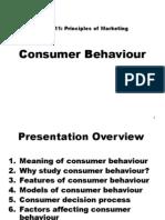 Marketing- Consumer Behaviour