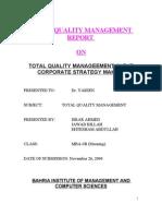 Final Report of Tqmz