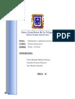 Fundamentos y Admin is Trac Ion Del Test Htp