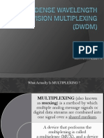 Dense Width Division Multiplexing by Achyuth Reddy k