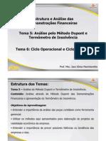 ADM Estrutura e Analise Das Demonstracoes Financeiras Teleaula3 Temas 5 e 6 Slide