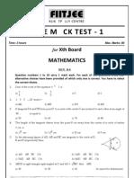 CBSEMathsMock1
