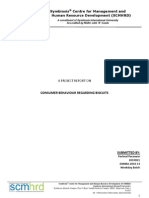 Consumer Behaviour Assignment 2010D21