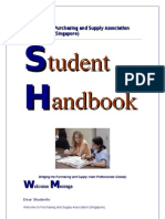 PASAS Student Handbook