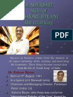 34712490 Kishore Biyani Leadership