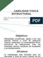 Vulnerabilidad Fisica Estructural -Fabricio Yepez
