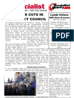 SP Leeds City Council Bulletin UNISON AGM Special