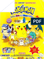 Der offizielle GAME BOY Spielberater Pokémon Gelbe, Rote und Blaue Edition
