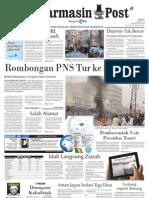 Banjarmasin Post edisi cetak Jumat 23 Maret 2012