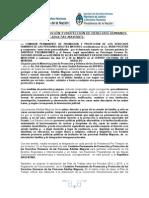 Sintesis Prensa- Altas des Del Mercosur en Derechos Humanos