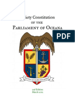 Society Constitution 2nd Edition Amendments