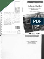 Culturas Hibridas - Nestor Garcia Canlini