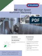 High Speed Aluminum Machining