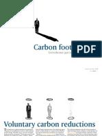 Carbon Foot Printing