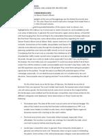 Reaction Paper on Panagbenga 2012