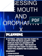 Mouth and Oropharynx