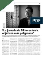 Entrevista Alejandro Cercas