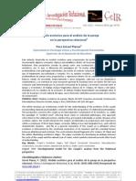 Modelo evolutivo para el análisis de la pareja en la perspectiva relacional