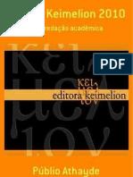 Manual Keimelion 2010  para redação acadêmica