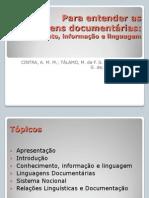 para entender as liguagens documentárias