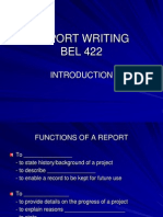 Student-Introduction to Report Writing-Bel