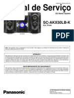 Panasonic Sc Akx50lb k 1