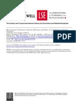 Laffont -Macroeconomic Constraints, Economic Efficiency and Ethics. an Introduction to Kantian Economics