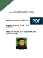 Trabalho Sobre Martinho Lutero