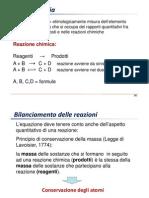 05 - Reazioni Chimiche-bilanciamento e Stechiometria v2