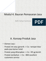 Modul 4. Bauran Pemasaran Jasa