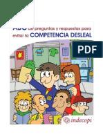 Manual Indecopi - El ABC de Preguntas y Respuestas para evitar la competencia desleal