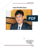 Report on Ketan Parekh Scam