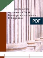 Kindergarten Curriculum Framework