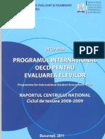 Cnee Centrul National Pisa Raport