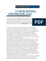 Internet via Bluetooth Com Hiisi Suite (Nokia 5230)