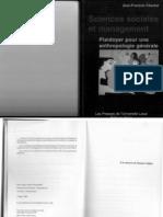 Chanlat 2000 Sciences Sociales Et Management