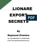 Million Are Export Secrets1