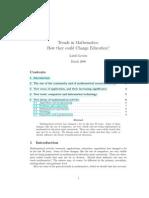 Trends in Math Lovasz