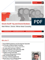Under the Covers of Oracle OLAP and Oracle Essbase