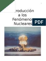 Apuntes sobre Fenómenos Nucleares