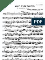 Contrabbasso Dragonetti - Adagio Und Rondo - Contrabajo