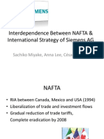 Final PPT Siemens & NAFTA