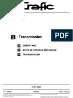 TRAFIC 3 - Transmission
