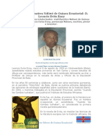 Los gigantes ilustres Ndôwé de Guinea Ecuatorial- D. Leoncio Evita Enoy