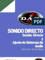 Seminario de Sonido Directo D.A.S Millenia