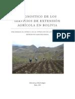 DIAGNOSTICO DE LOS SERVICIOS DE EXTENSIÓN AGRÍCOLA EN BOLIVIA