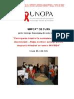 Suport de Curs-Advocacy-retea de Tineri Activisti UNOPA