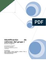 Informe de Inorganic A II
