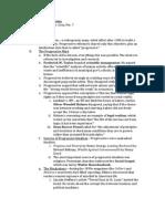 Progressive Packet Notes