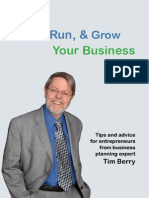 Start, Grow and Run Your Own Busines - Tips and advice - Tim Berry - Bplan.com